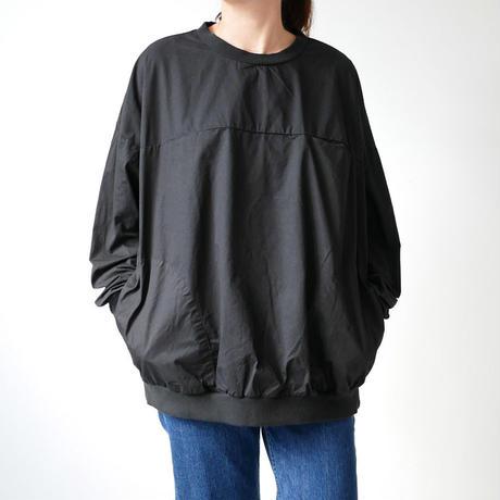 HARVESTY  ハーベスティ |  EGG PULL OVER SHIRTS  エッグプルオーバーシャツ | BLACK | A41801