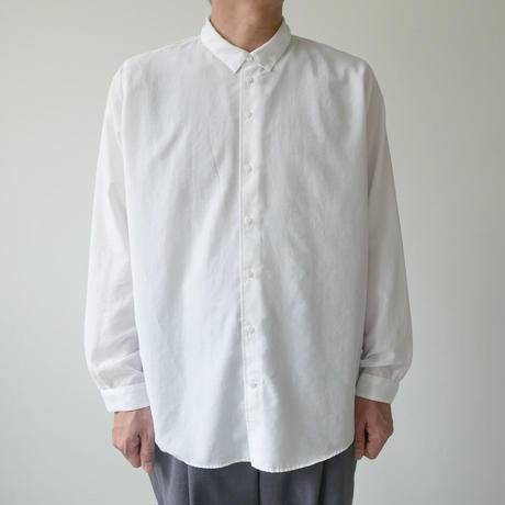 NO CONTROL AIR ノーコントロールエアー  LIGHT BROAD CLOTH SHIRTS  ホワイト NO. S8-NC105SF / NCCSH