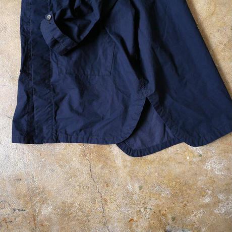 UNIVERSAL TISSU ユニヴァーサルティシュ ベーカリーノーカラーコクーンシャツ UT170SH075