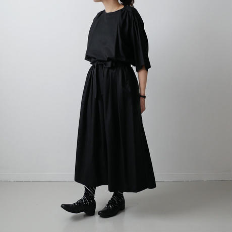 Si-Si-Si comfort スースースーコンフォート ブラウス CEREMONIAL OCCASIONS BLOUSE BLACK 18-SS035