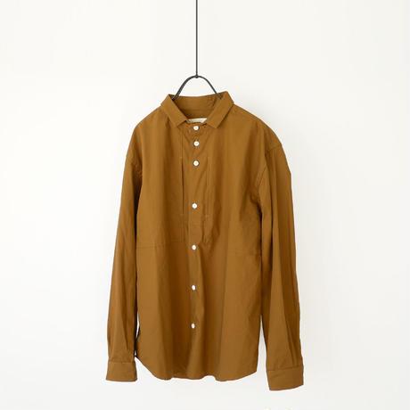 nisica |ニシカ | スモールカラーシャツ |ブラウン |NIS-860
