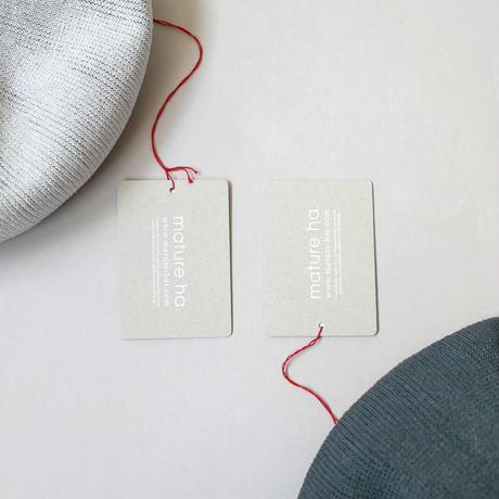 mature ha.|マチュアーハ|beret top gather big silk|ベレートップギャザービッグ|MAS1820