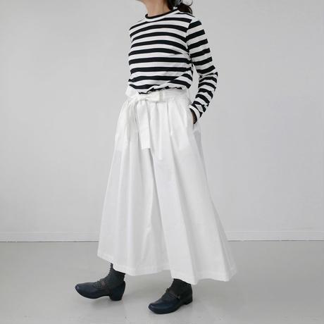Si-Si-Si comfort|スースースーコンフォート|コットンツイル リボンスカート|