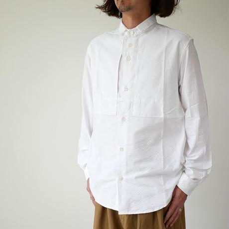 nisica |ニシカ | スモールカラーシャツ |ホワイト |NIS-860