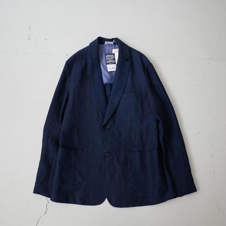 BLUE BLUE JAPAN |ブルーブルージャパン|インディゴリネンシャンブレー パネルカット2Bジャケット|INDIGO|700073610