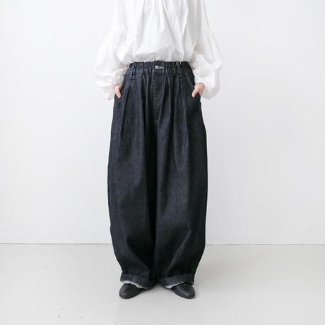 HARVESTY  ハーベスティ DENIM CIRCUS PANTS デニムサーカスパンツ / ワンウォッシュ A11801