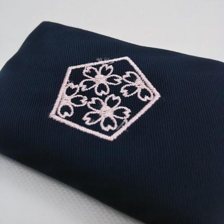 合格祈願 ミニティッシュケース  ピンク色刺繍
