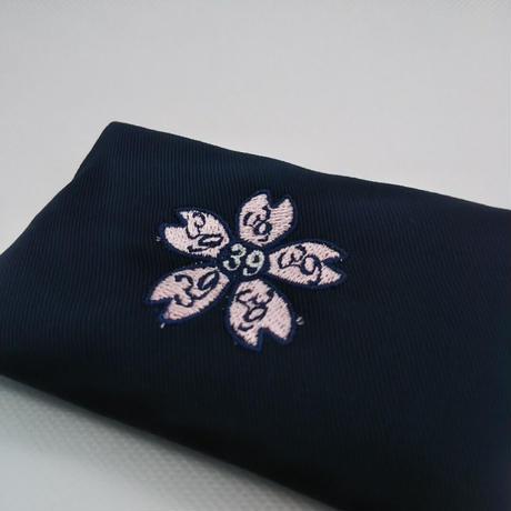 合格祈願 ミニティッシュケース  サクラ咲く特別刺繍