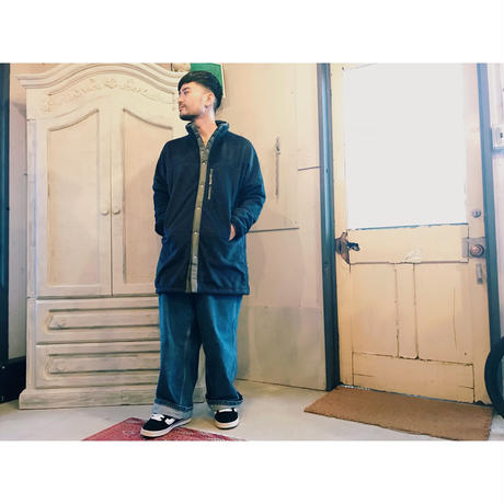 SON OF THE CHEESE 「Nomadic fleece jacket」 navy
