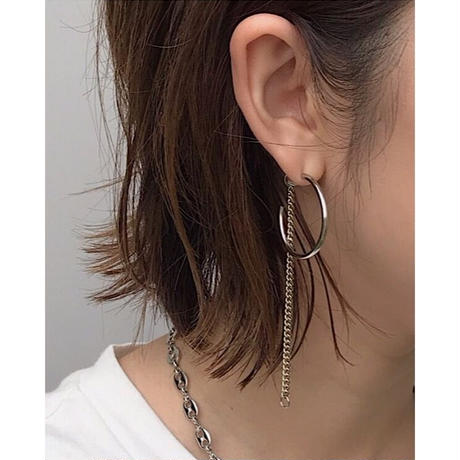 JUSTINE CLENQUET「Julia earrings」