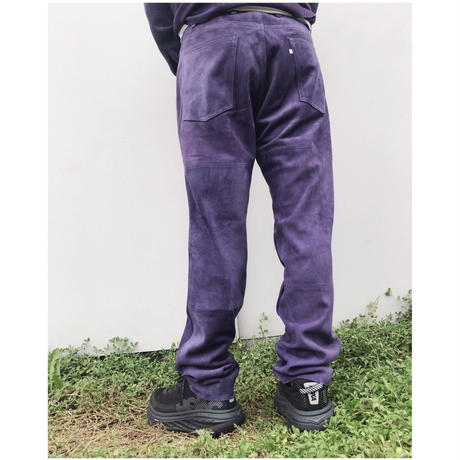 WESTOVERALLS「SUEDE TAPERED PANTS」