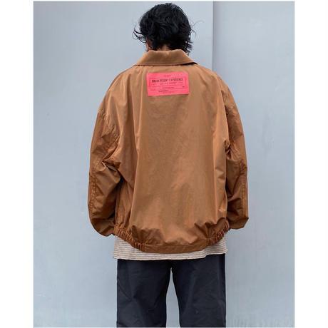 BLACK WEIRDOS「Drizzler Jacket」brown.