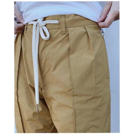 ETHOS「PIN WIDE PANTS」