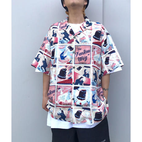 SON OF THE CHEESE「Fantom Wig Shirt」
