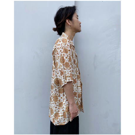 FACCIES「Oriental Pattern Rayon Shirt」Off.