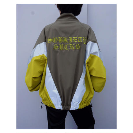 Black Weirdos「Reclector Track Jacket」
