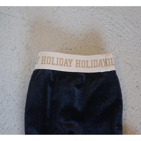 HOLIDAY「VELOURS LEGGINGS」