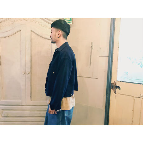 WEST OVER ALLS 「888S SUEDE TRACKER jacket」 indigo