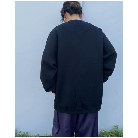 BLACK WEIRDOS「Crew Neck Sweat Shirt」black.