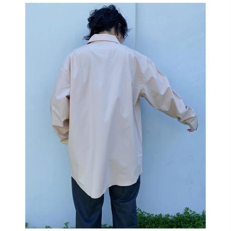 ETHOS「CRAFTSMAN SHIRTS」 flesh-beige