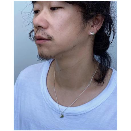 BLACK  WEIRDOS「OM Silver Necklace」