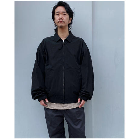 BLACK WEIRDOS「Drizzler Jacket」black.