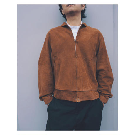 WEST OVER ALLS「SUEDE SPORT JACKET」