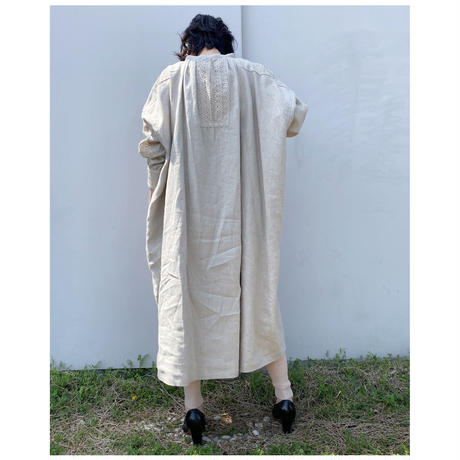 HOLIDAY「HEAVY LINEN DRESS」