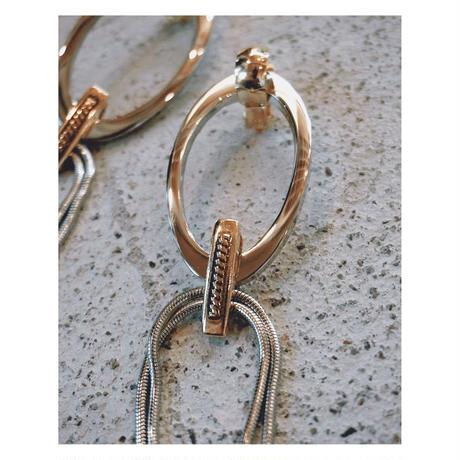 THE Dallas「metal ring earring」