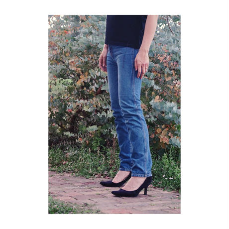HOLIDAY 「HIGH WAIST SKINNY DENIM PANTS」