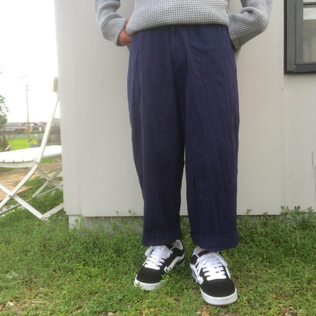 VOTE MAKE NEW CLOTHES  ANKLE WIDE  CHINO PANTS