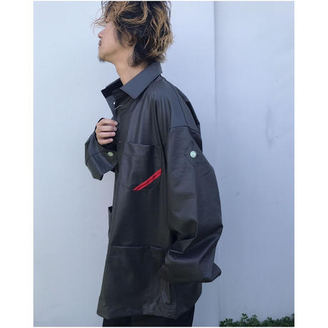PHINGERIN「OILY JACKET」
