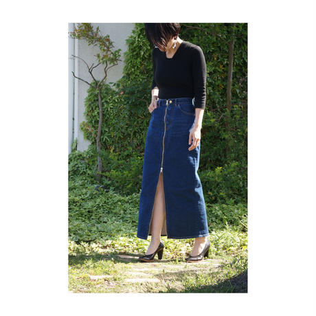 k3&co. 「ZIP DENIM SKIRT」