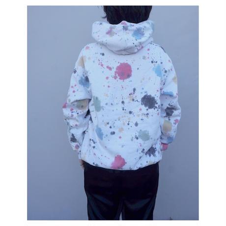BRAIN DEAD「Splatter Dye Hoodie」