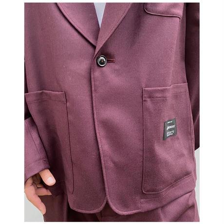 BLACK WEIRDOS「Shawl-collar Jacket」
