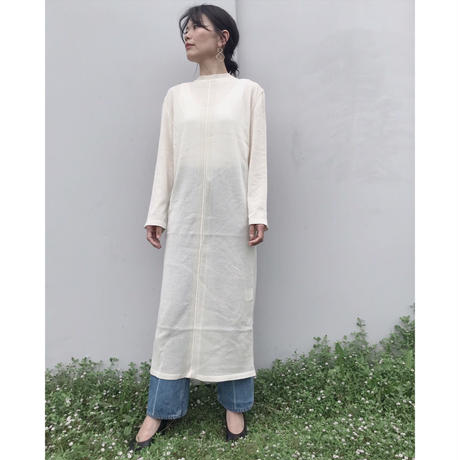 TAN.「FINE COTTON ONE PEACE」