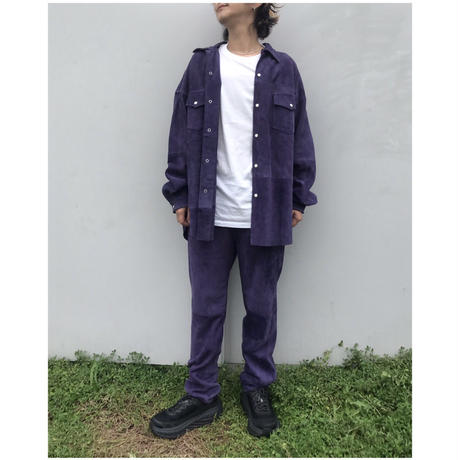 WESTOVERALLS「SUEDE SHIRTS」