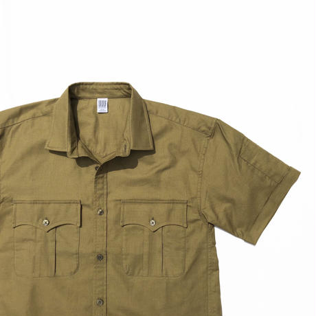COMFORTABLE  REASON 「Panama cloth Safari Shirts」