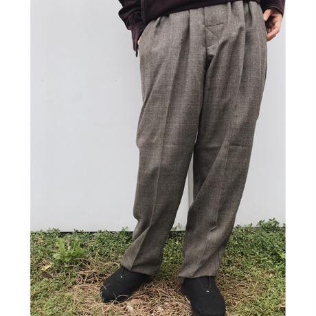 COMFORTABLE REASON「Wool Glencheck slacks」