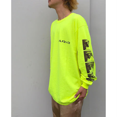 "Black Weirdos ×Mr,Green「""Ganziiz"" L/S Tee」"