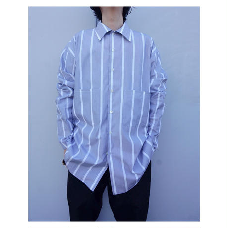 ETHOS「SWAMP STRIPE SHIRTS」