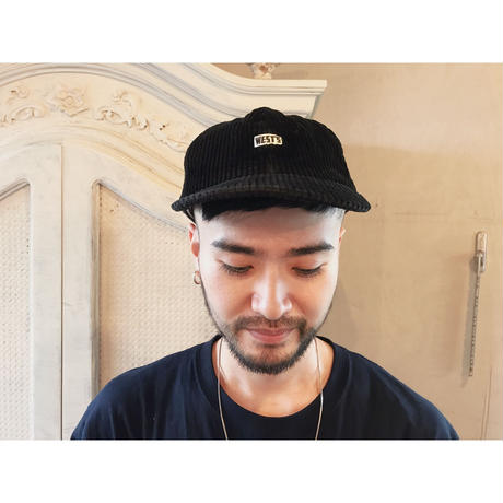 WEST OVER ALLS 「WEST'S   CORDUROY CAP」