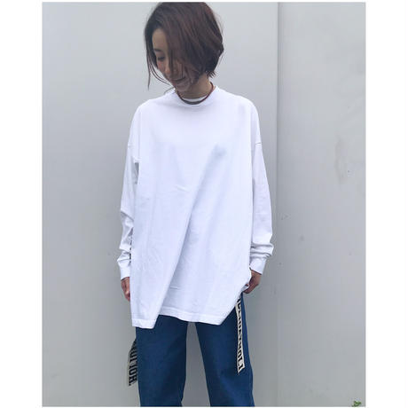 HOLIDAY「SUPER FINE DRY  L/S T-SHIRT(TAPE)」