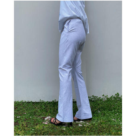 HOLIDAY「SUPER FINE DRY FLARE PANTS」H.GRAY.