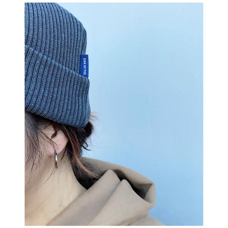 SON OF THE CHEESE「Silk Linen knit CAP」