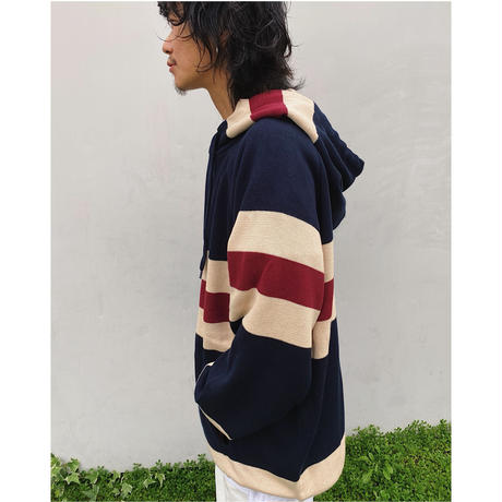 SON OF THE CHEESE「Border Hoodie」