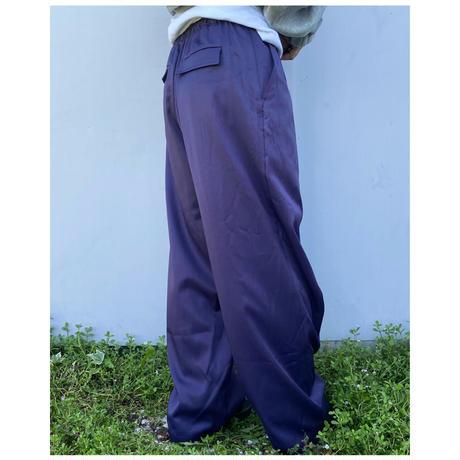 DOMENICO+SAVIO「TWILL EASY PANTS」purple.