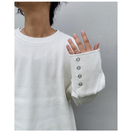 FACCIES「HEAVY THERMAL PULLOVER」white .
