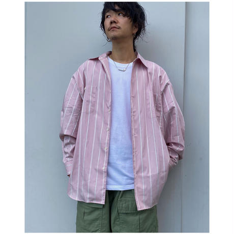 SON OF THE CHEESE「Stripe Big Shirt」