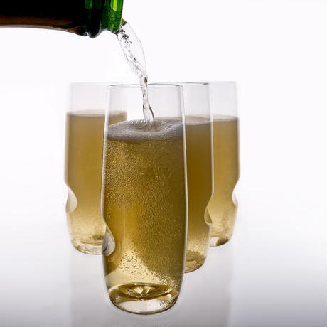 govino シャンパン用フルートグラス1個
